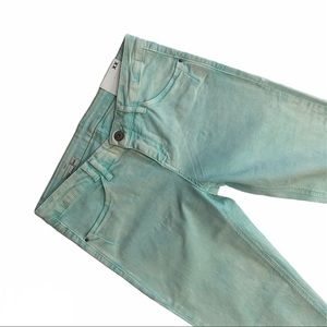MEXX acid wash / tie dye cropped skinny jeans